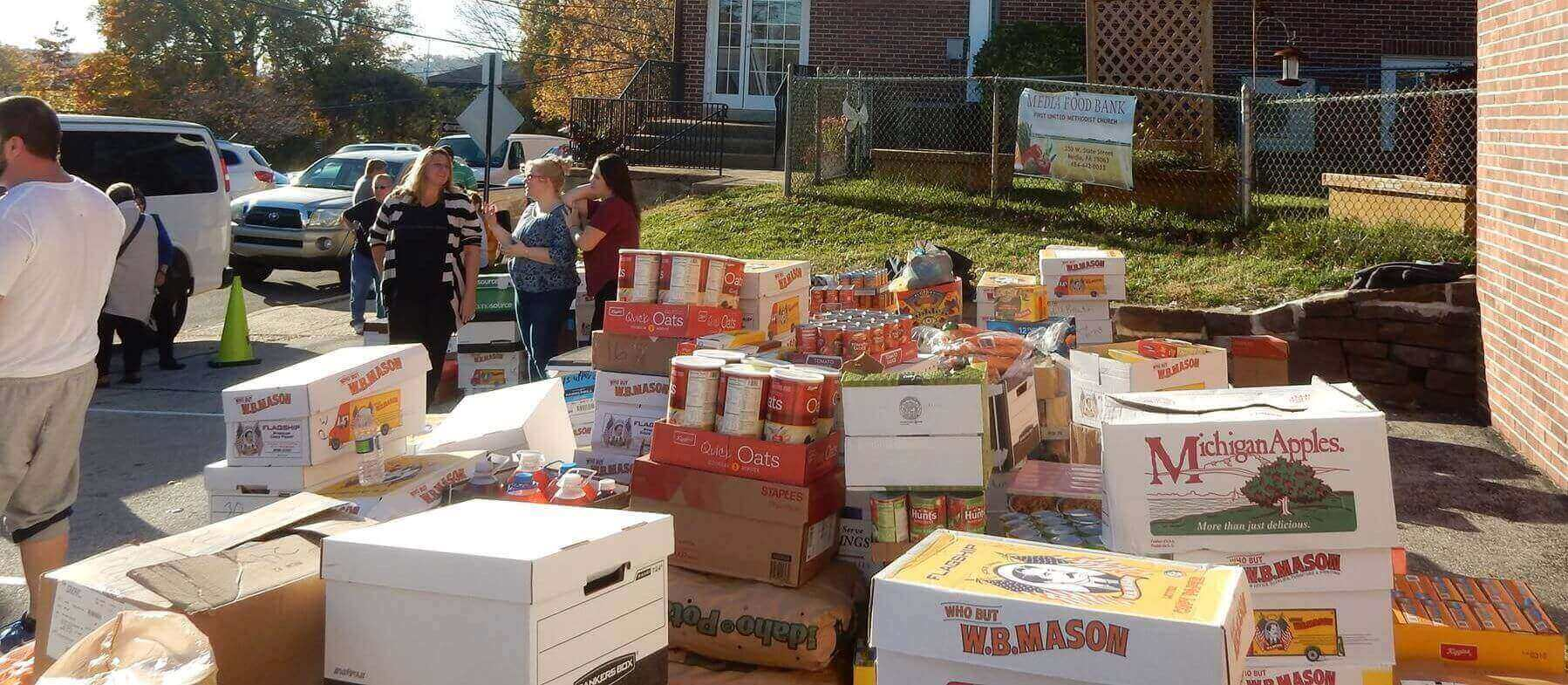 Two COVID-19 Food Drives Set Saturday in Upper Darby and Darby Borough