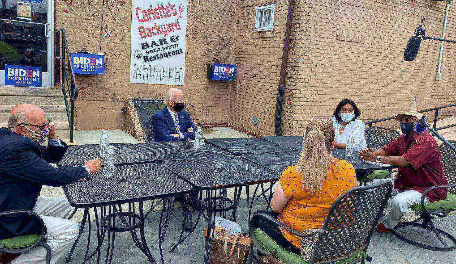 Joe Biden Got Down to Business in His Visit to Yeadon and Darby Wednesday