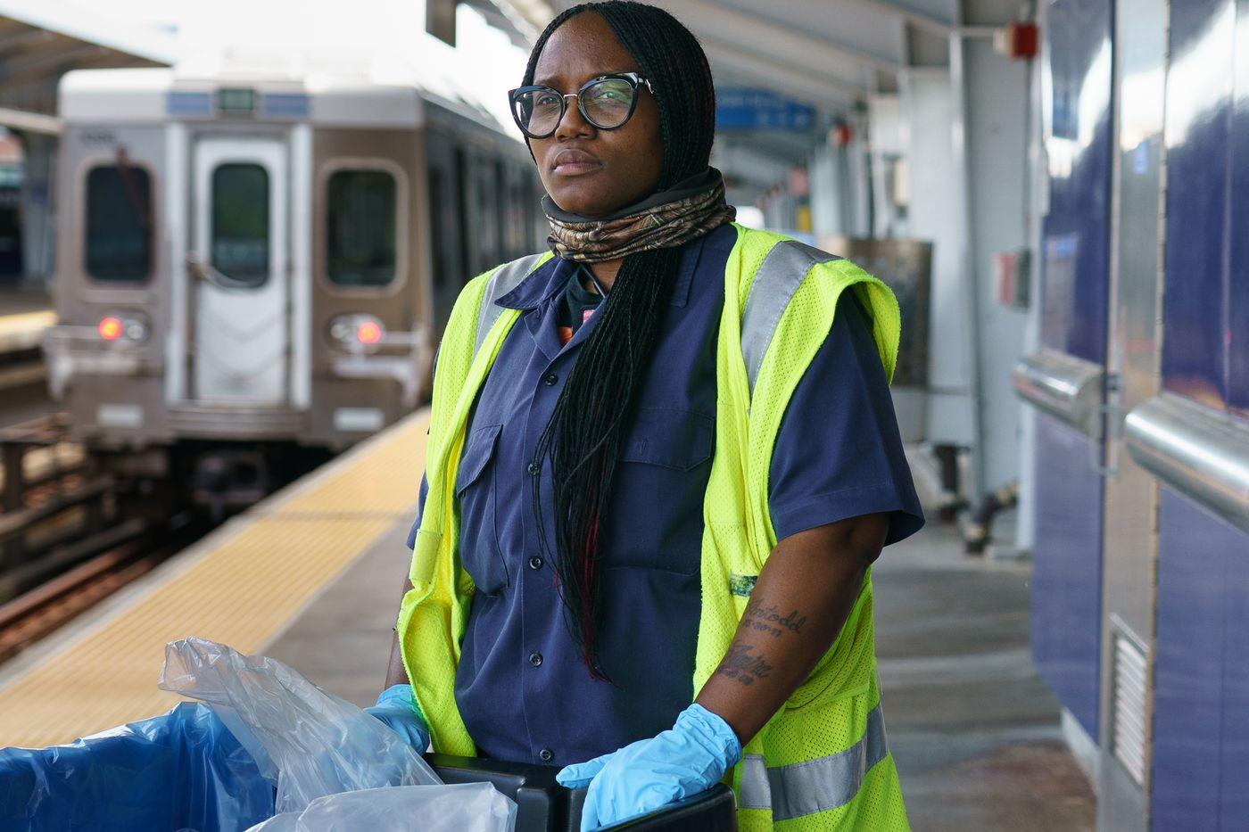 This Army of SEPTA Cleaners Keep Vigilant Against Coronavirus to Protect Riders