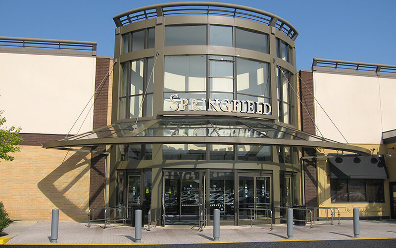 """At Springfield Mall, Free Masks and Hand Sanitizer Stations Herald New """"Green"""" Shopping Experience"""