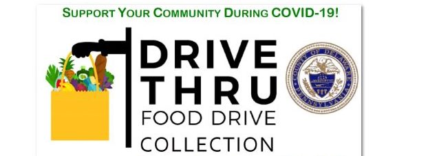 Two Contact-less Food Drives Scheduled for Saturday, June 13
