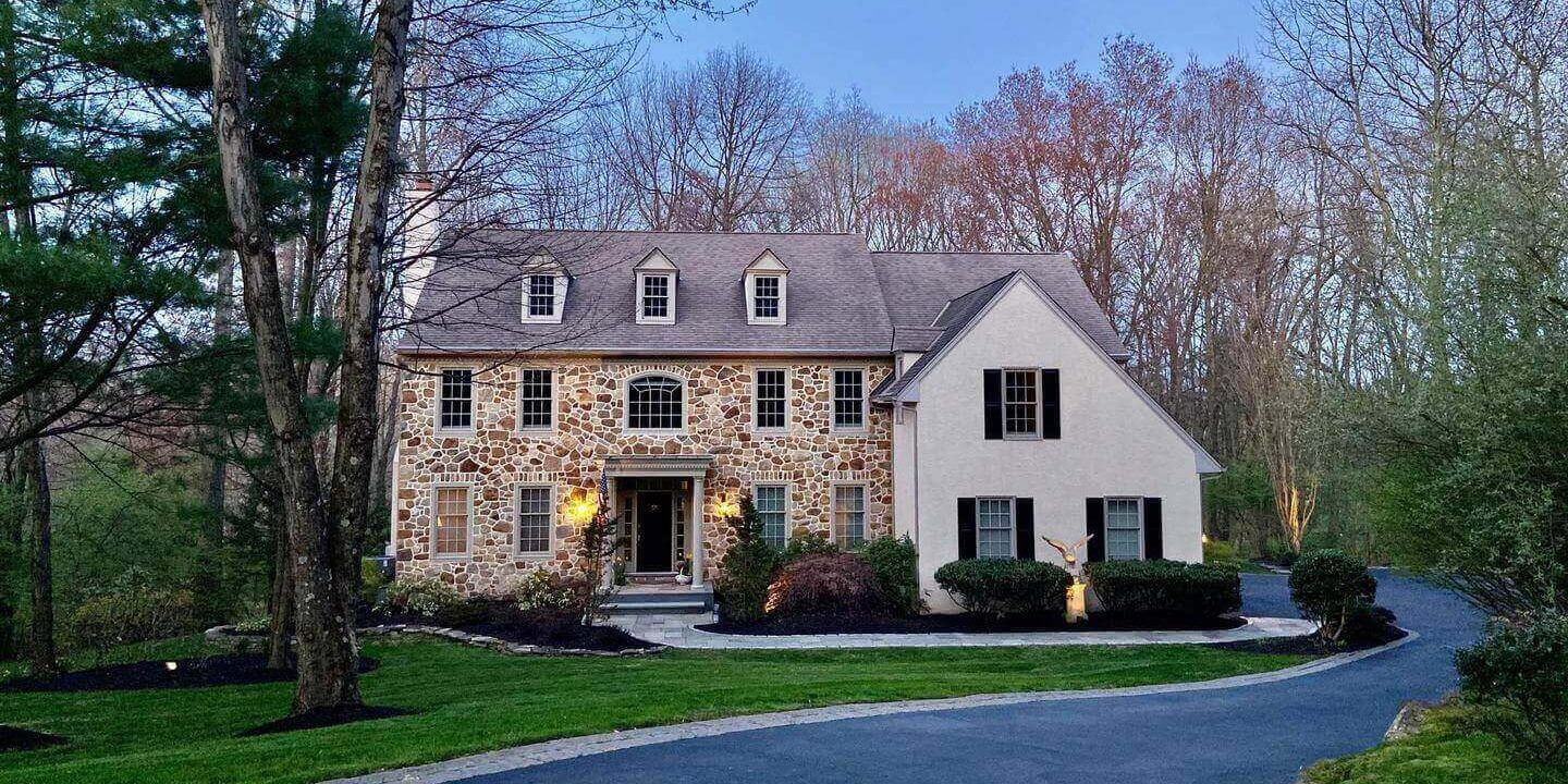 Malvern Bank House of the Week: A Stately 5-Bedroom Home on 1.55 Wooded Acres
