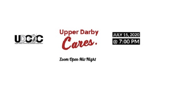 Open Mic Night Fundraiser July 15, Via Zoom, to Benefit Upper Darby Community Outreach Corporation