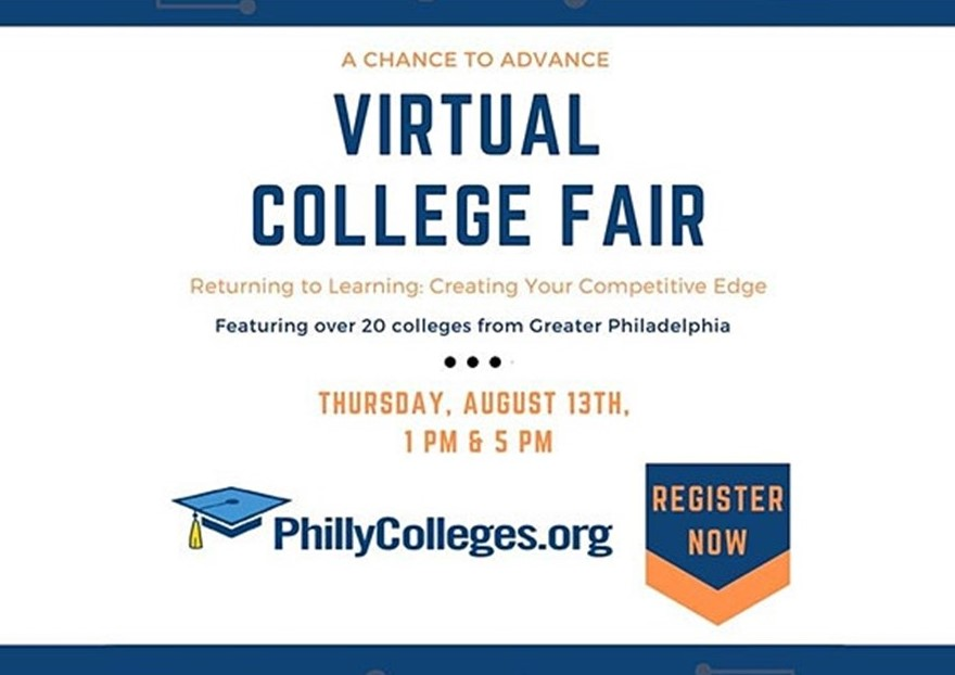 Consortium of Local Universities to Host Virtual College Fair Targeted Toward Working Adults on Aug. 13