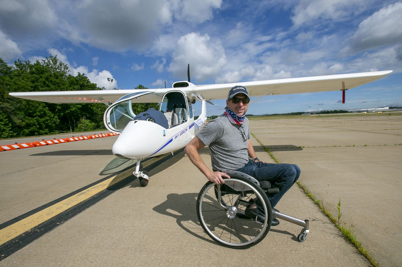 The Skies Beckoned for This Newtown Square Pilot, and a Disability Wasn't Going to Stop Him