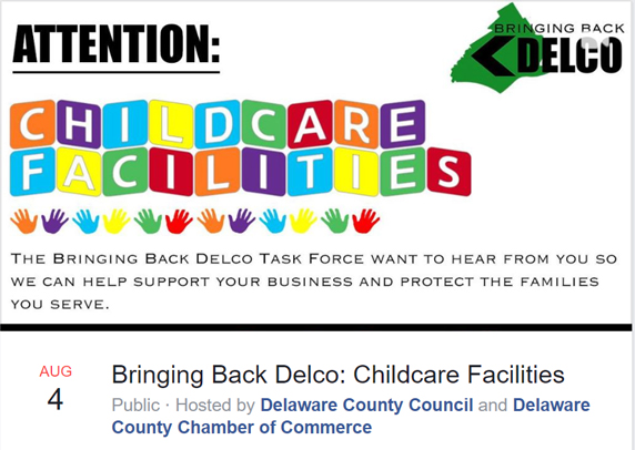 Aug. 4 Webinar Asks Childcare Facility Owners What They Need to Reopen Safely