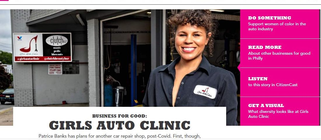 Founder of Girls Auto Clinic in Upper Darby Working to Bring More Women of Color to the Auto Industry