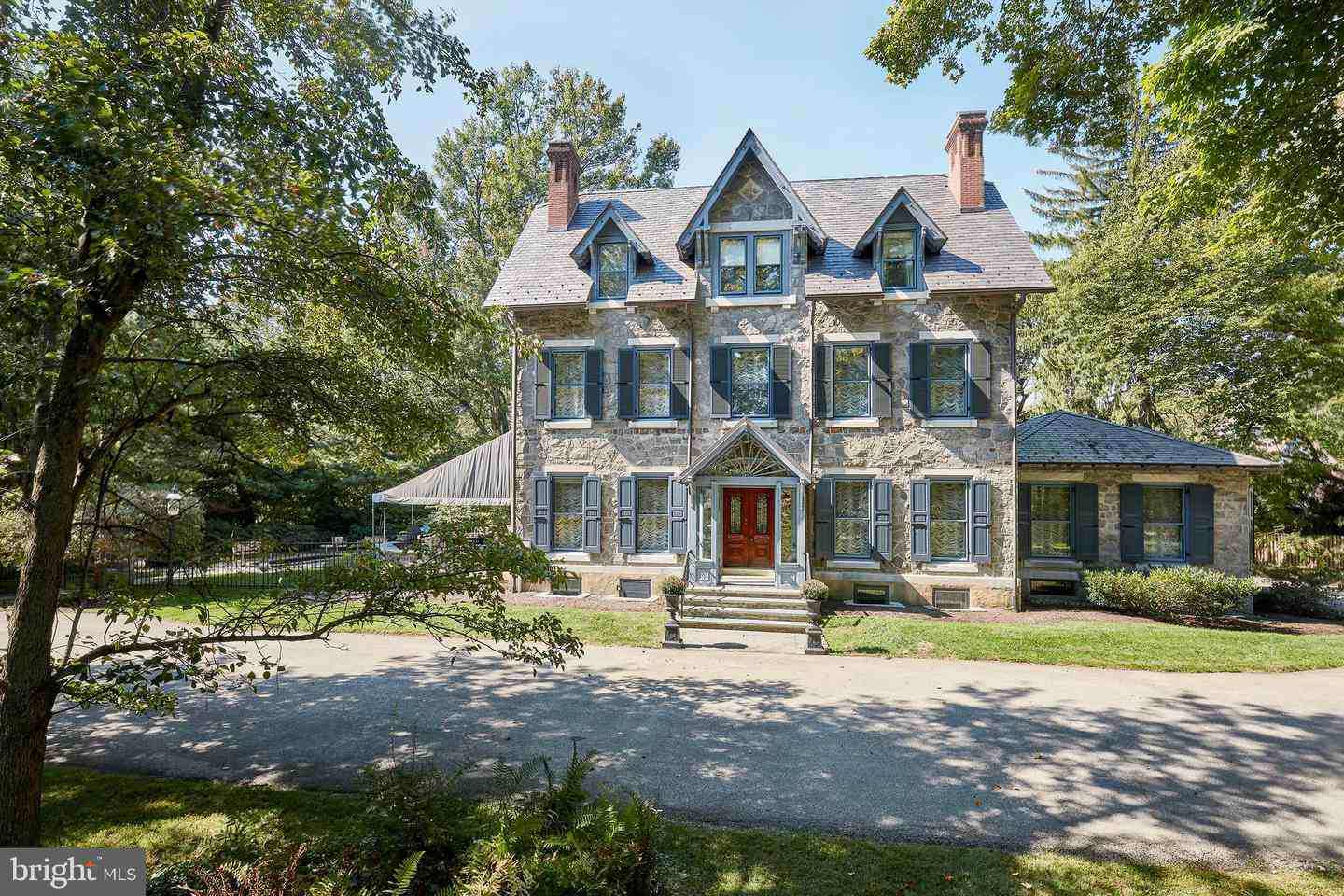 Malvern Bank House of the Week: 1880 stone Victorian Manor home in Villanova