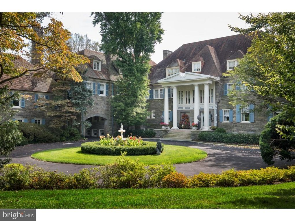 Villanova Estate Owned by Founder of Luden's Cough Drops Goes to Auction