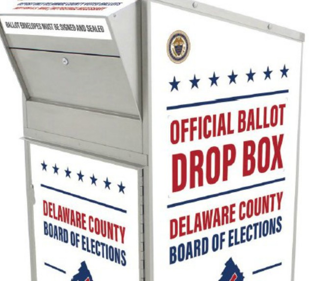 Delaware County Announces 32 Ballot Drop Box Locations for Secure Voting