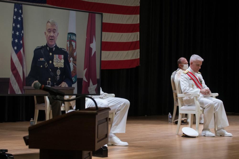 Cardinal O'Hara Grad Takes Over U.S. Navy Middle Eastern Fleet