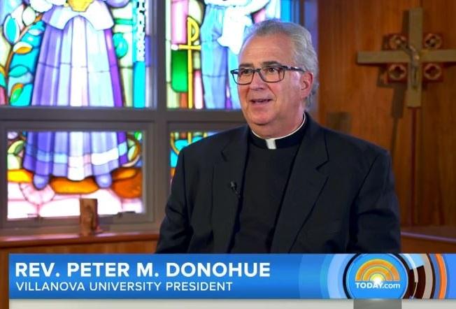Rev. Donohue Reflects on Leading Villanova University in a Pandemic