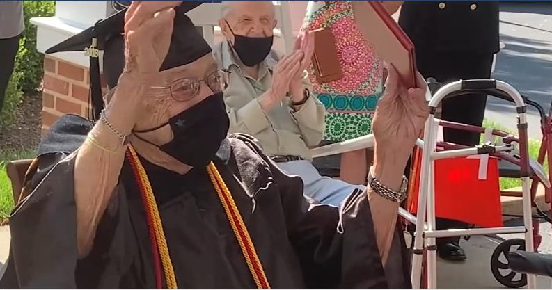 World War II Vet Left School to Support Family. He Just Got His Diploma From Rose Tree This Week
