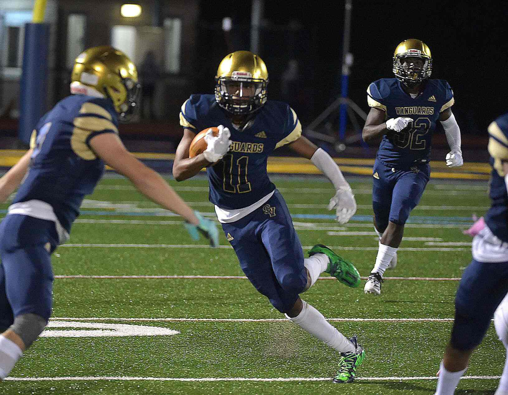 A Poignant Touchdown for Sun Valley as High School Football Resumes