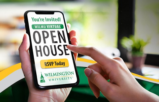 Start Preparing for Your Next Career Move; Attend WilmU's Virtual Open House on Wednesday