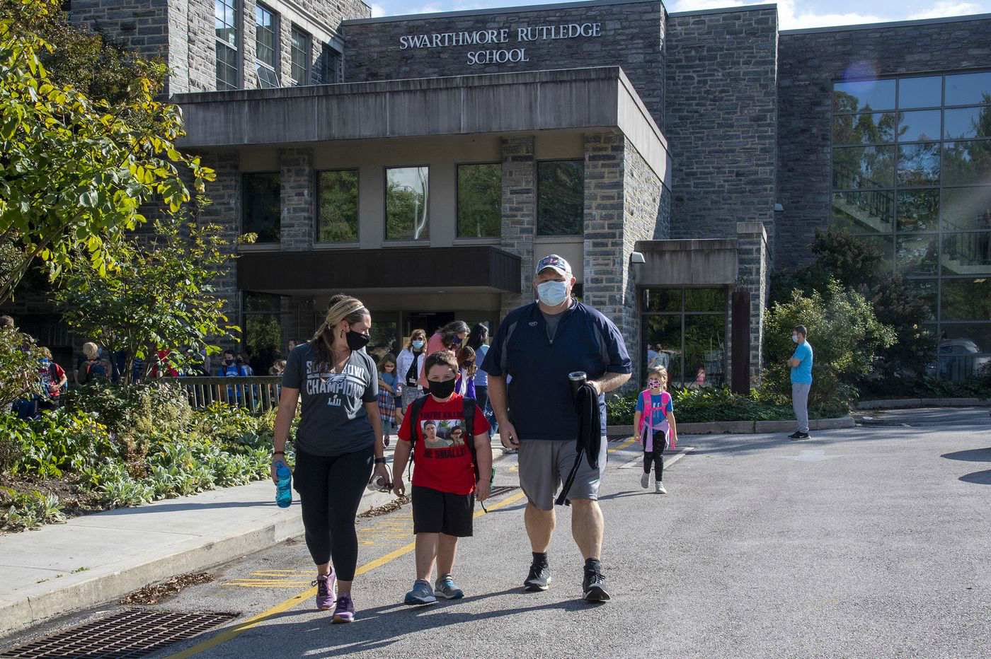 Kids in Wallingford-Swarthmore Return to School But It's Not Like It Was