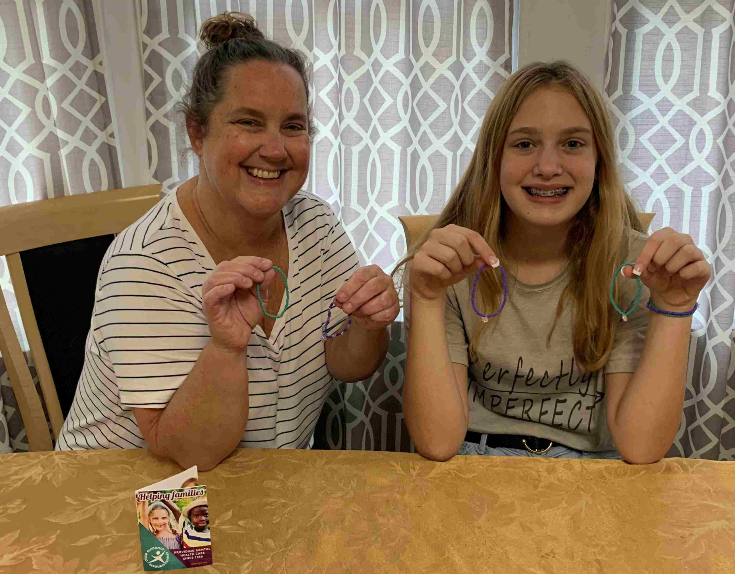 Bracelet Fundraiser Helps Child Guidance Resource Centers and Encourages Mental Health Awareness