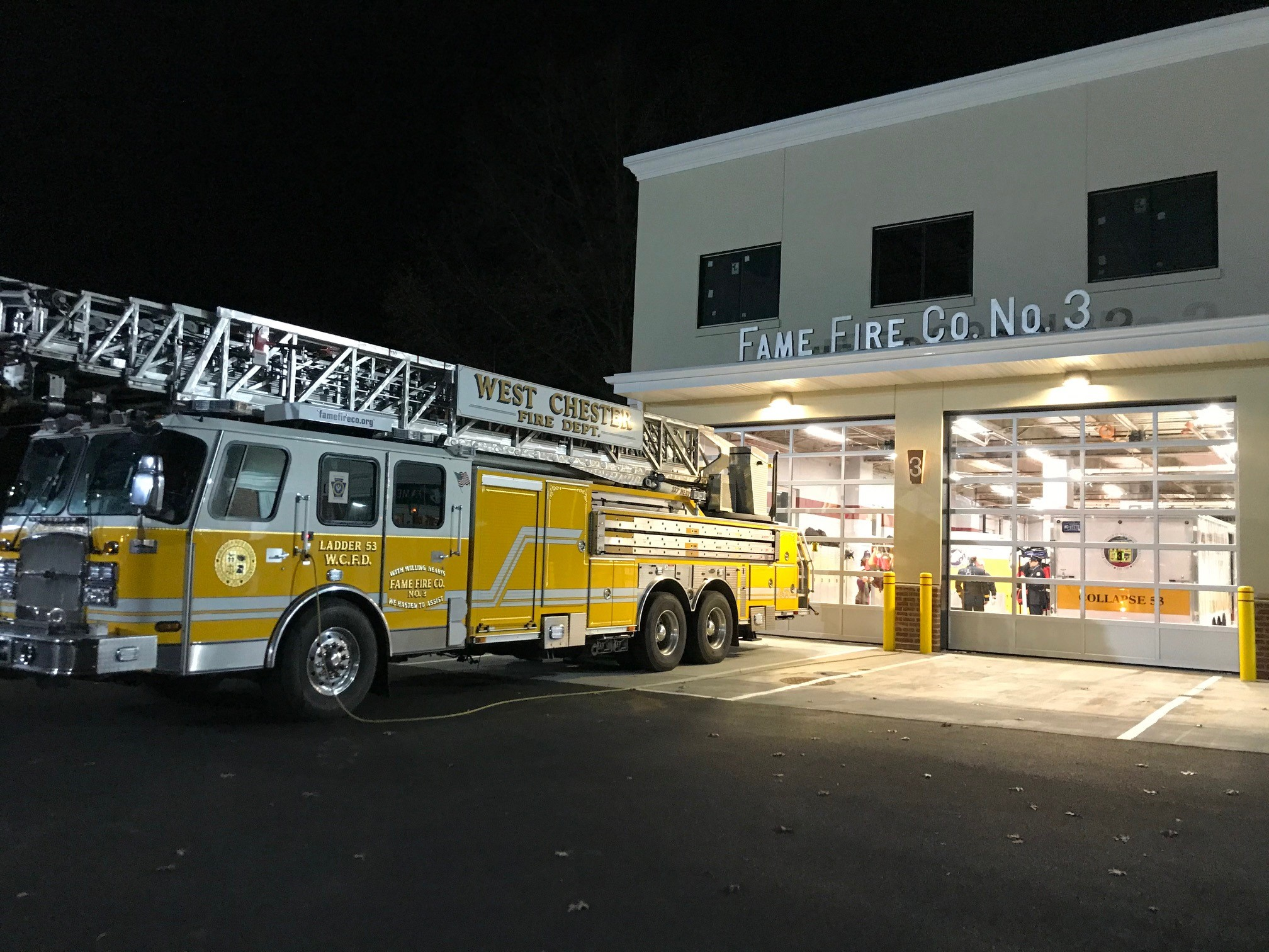 Energy Transfer Awards West Chester's Fame Fire Company $25,000 Grant for Station Enhancements