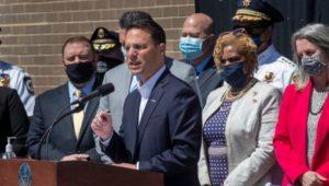 PA Attorney General Josh Shapiro talks about a new program in local drugs arrests