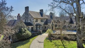 Newtown Square stone manor home