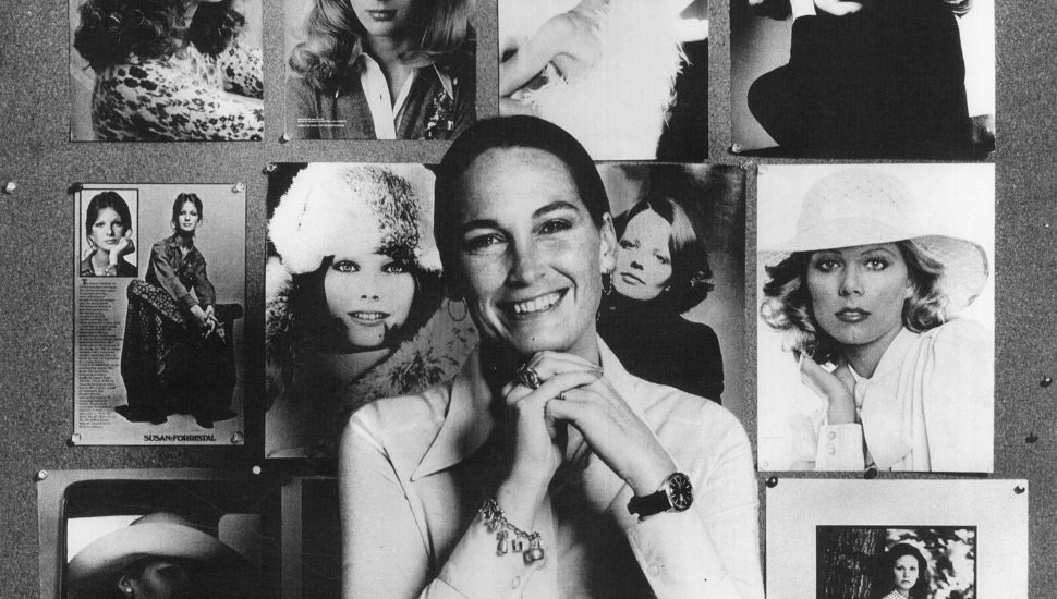 Barbara Stone in the 1970s as an agent for Stewart Models