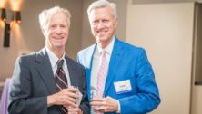 Richard D. Wood Jr. and pediatric surgeon N. Scott Adzick who started the Fetal Diagnosis and Treatment Center