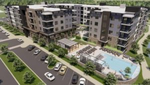 Planned apartments for the final phase of the Ellis Preserve development in Newtown Square