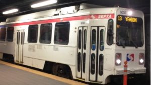 SEPTA infrastructure trolley system