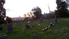 historic cemetery in Wayne