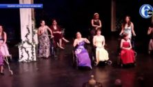 Performers with Acting Without Boundaries in Bryn Mawr.
