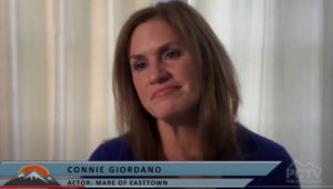 Connie Giordano talks about her role as character Patty DelRasso in 'Mare of Easttown'.