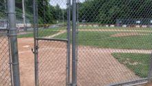 A Little League field in Delaware County.