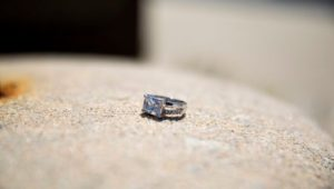 The lost engagement ring found by Inquirer columnist maria Panaritis.