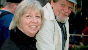 Robert Boyce with his wife, editor and advisor, Amy.