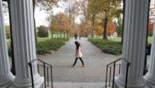 Swarthmore College campus.