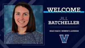 Jill Batcheller, new head coach for Villanova's women's lacrosse team.