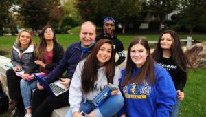 Students at Neumann University.