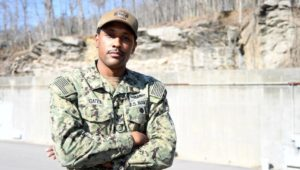 Raymond Gates from Chester was named 2020 Sailor of the Year. He is assigned to the Naval Submarine Support Facility in Groton, Conn.