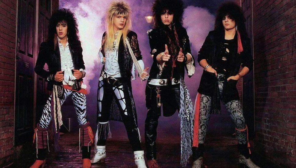 The 80s rock band, Cinderella with Upper Darby guitarist Jeff LaBar.