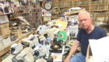 Val Shiver at R&B Records in Upper Darby