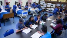 Nursing students at P.I.T.