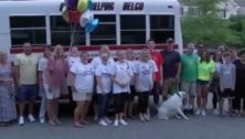 The DiChiachio family with the Delco Group and other supporters.