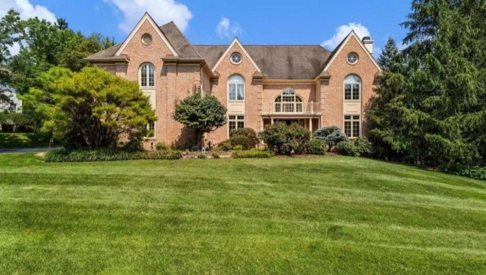 A manor house for sale at 503 Van Lears Run in Villanova.