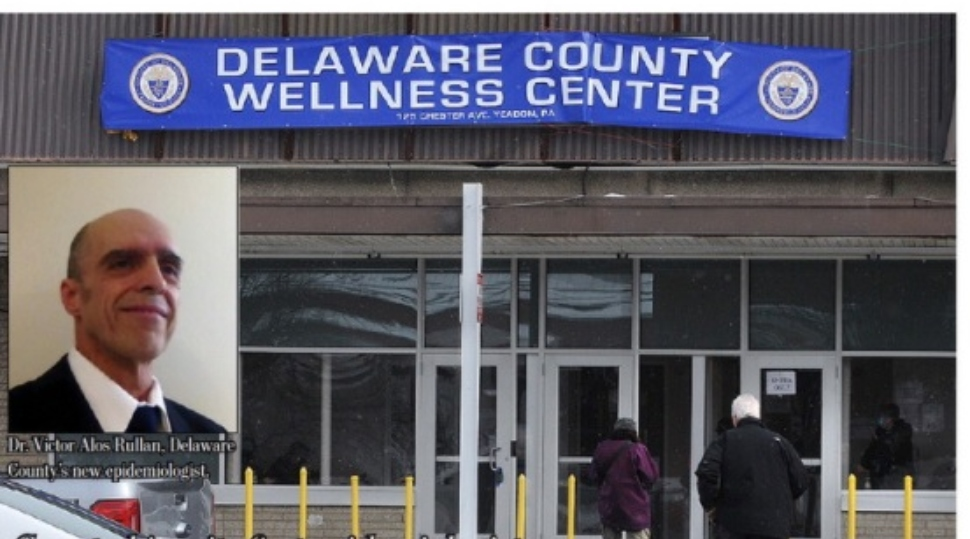 Dr. Victor Alos Rullan is shown, along with the Yeadon Wellness Center, future home of the Delaware County Health Department