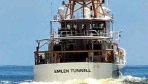 The 45th Fast Response Coast Guard Cutter named after Emlen Tunnell.