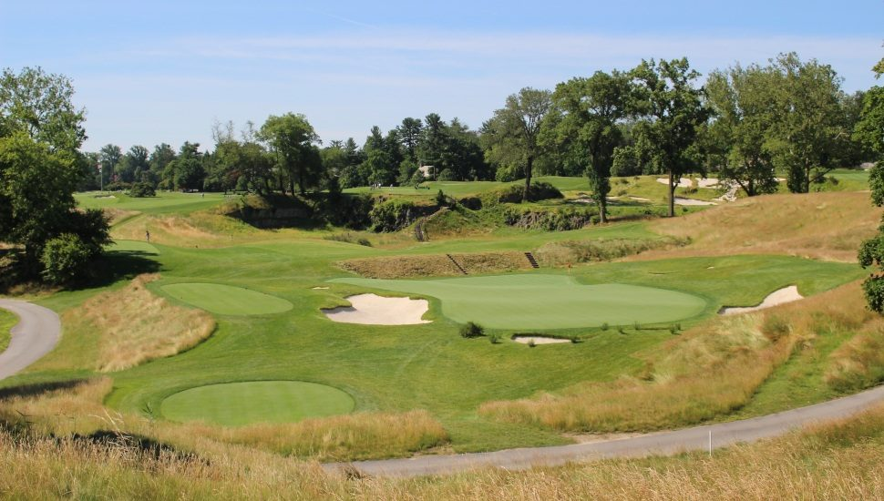 The Merion Golf Club golf course.