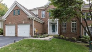 A home for sale in Newtown Square.